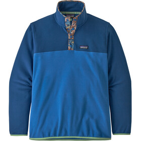 Patagonia Micro D Snap-T Giacca Uomo, bayou blue
